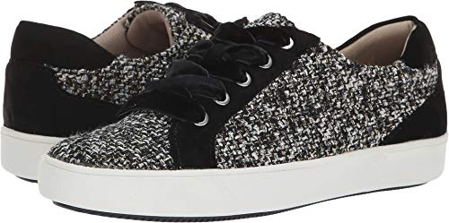 (Naturalizer Women's Morrison Black/White Tweed Fabric 7 M US)