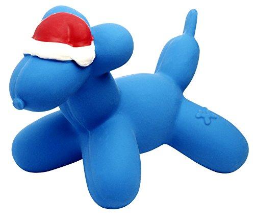 Charming Pet Products Balloon Xmas Dog Large Latex Dog Toy