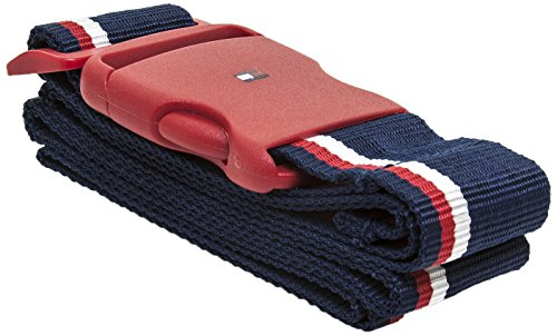 (Tommy Hilfiger Luggage Strap, Red)
