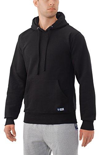 Russell Athletic Men's Pro10 Fleece Pullover Hood, Black, Large