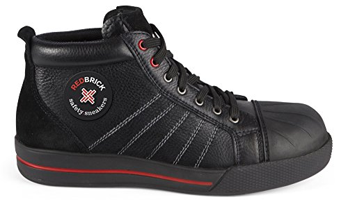 Redbrick Sicherheitsschuhe S3 Sneaker Onyx 41 Schwarz