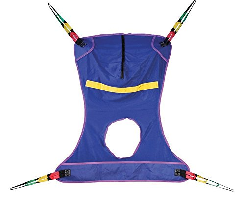 AliMed Full Body Mesh Seat Commode Sling, Medium