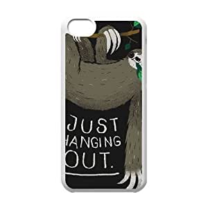 iPhone 5c Cell Phone Case White JUST HANGING OUT JSY4273426KSL