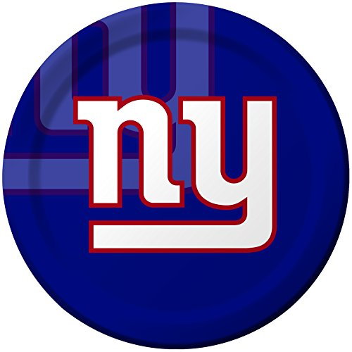 Creative Converting 8 Count New York Giants Paper Dinner (College Costume Ideas 2016)