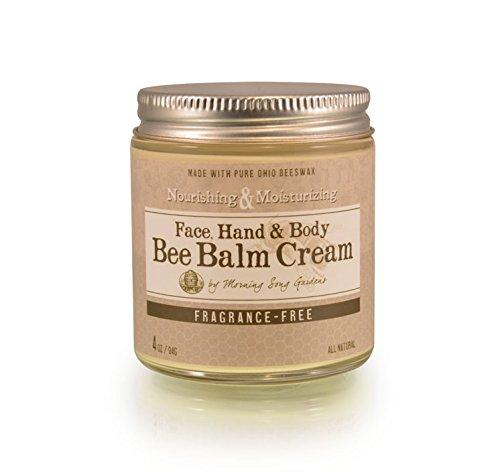 Bee Balm Cream Moisturizer, Fragrance Free, 4 oz
