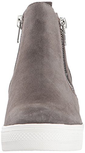 buy authentic online sale pay with visa Steve Madden Women's Wedgie Sneaker Grey Suede cheap choice release dates online MlZDXMvY