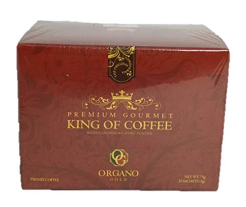 Organo Gold 5 Boxes Ganoderma Gourmet - Gourmet King Coffee (25 sachets) by Organo Gold (Image #2)