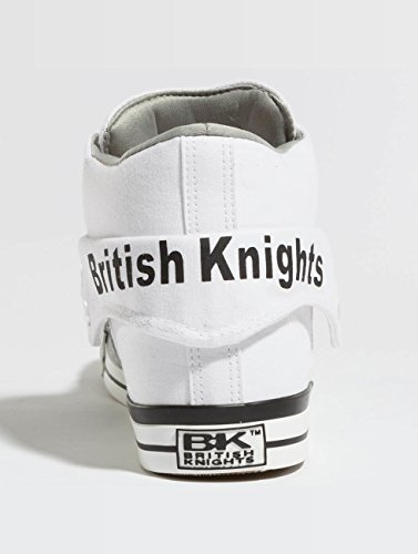 Top Herren Knights British ROCO High White Grey FT1HIwqH
