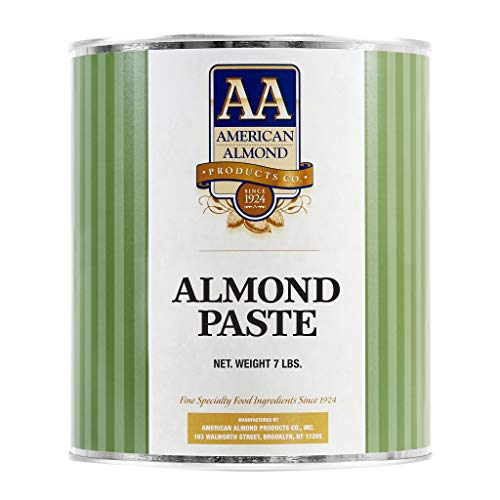 Cacaoholic - Almond Paste by American Almond | 7 lb Can (Best Uses For Almond Paste)