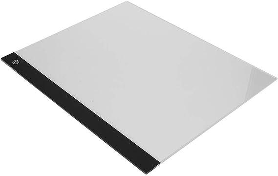 LED 2500LUXトレーシングタブレット、LEDトレーシングパッドType-Cからライティングタブレット、子供向けの子供向け絵画(Three-block dimming)
