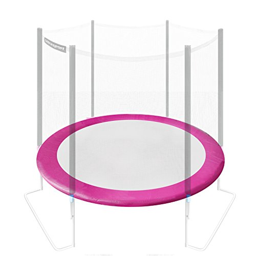 Ultrasport Randabdeckung für Gartentrampolin Ultrasport / Ultrafit Jumper Blau oder Pink, 305 cm