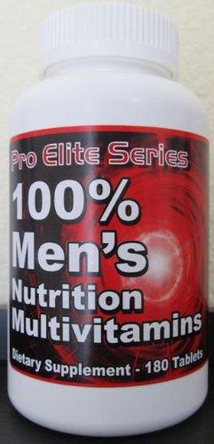 Pro Elite Multivitamines Optimum pour les hommes. Nutrition et croissance musculaire Sport supplément.