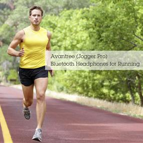 avantree jogger bluetooth stereo headphone for sports use