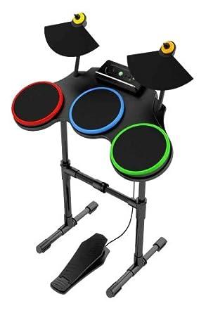 Xbox 360 guitar hero world tour band drum kit set drums band.