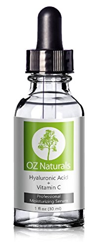 OZ Naturals - THE BEST Hyaluronic Acid Serum For Skin - Clinical Strength Anti Aging Serum - Best Anti Wrinkle Serum With Vitamin C  Vitamin E - Our Customers Call It A Facelift In A Bottle. This Vegan Hyaluronic Acid Serum Will Plump & Hydrate Dull S...