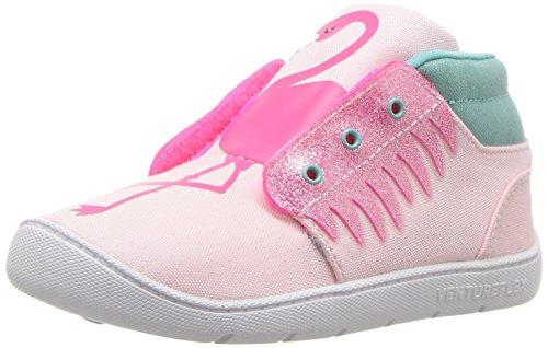 Reebok Baby VF Chukka Critter FEET Sneaker, Luster Acid Pink/WHI, 5 M US Infant (Reebok Chukka Shoes)
