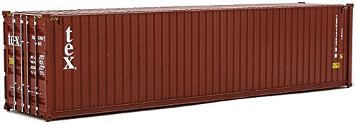 Walthers SceneMaster 40' Hi-Cube Corrugated Container Tex - Assembled Train Collectable Train