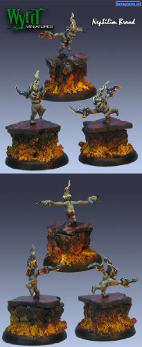 Liliths Brood Terror Tot Nephilim (3 Pack) Neverborn Malifaux