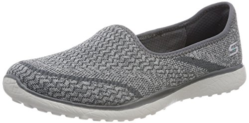 Sneaker Grigio Mine Microburst Grey Skechers Donna all OqnA86xwa