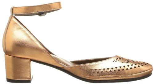 Yves Desfarge Real Damen Schnürhalbschuhe Gold - Or (Cuivre)