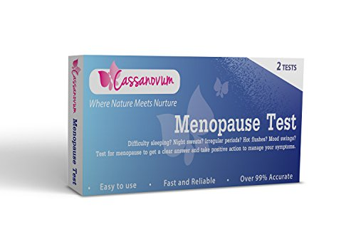 Menopause Test (Pack of 2 Tests) - Test and be - Stimulating Hormone Follicle Fertility