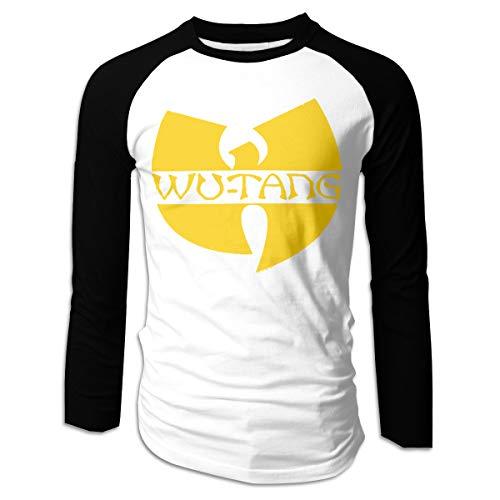 (POOPEDD Wu-tang Men's Long Sleeve Baseball T-Shirts XXL)
