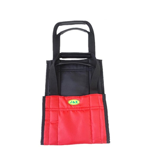 LUCKYYAN Care Shop Glide Slide Sheet Patient Mover / Get up with the Auxiliary Belt - Red and Black - 75cm x 21cm by luckyyan
