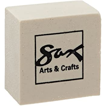 Amazon Com Sax Soap Erasers 1 X 1 X 5 8 Inches Pack