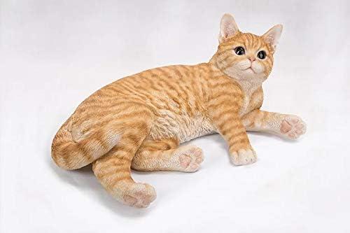 VI N VI Tabby Cat Figurine