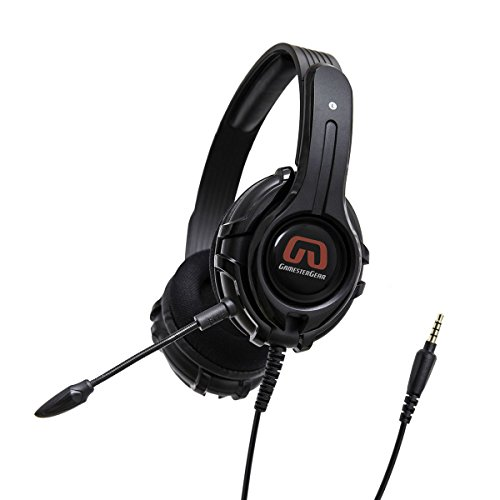 GamesterGear Stereo PC PS4 Gaming Headsetc Online Chatc Headphone with Detachable Micophonec Black OG-AUD63084