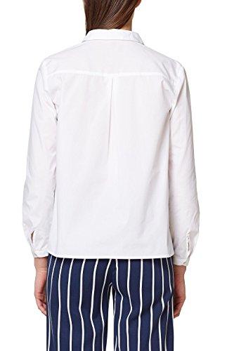 Collection 100 Bianco Camicia Esprit white Donna dvOTXZq