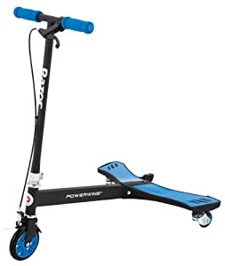Y Fliker Scooter >> Amazon.com : Razor PowerWing Caster Scooter - Blue : Three ...