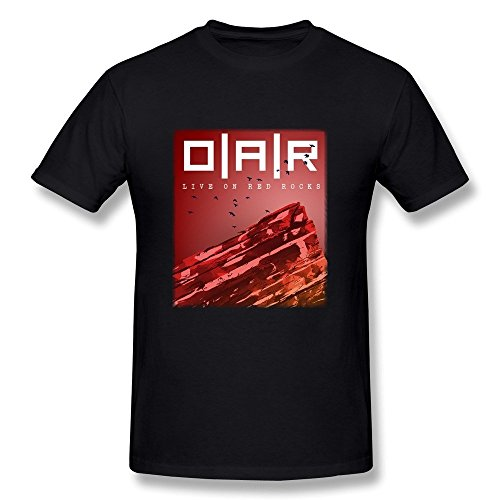 JIAYUHUA Men's O.A.R. Band T-shirt XXL - Culos Black Big