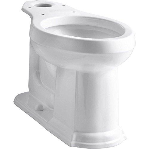 Kohler K-4397-0 Devonshire Comfort Height Elongated Bowl, White