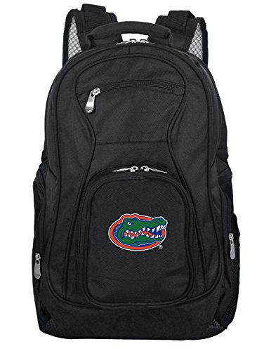 Denco NCAA Florida Gators Voyager Laptop Backpack, 19-inches, Black ()