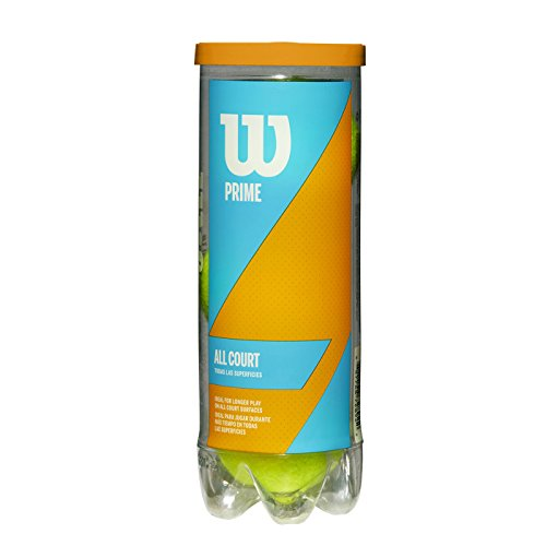 Team Head Balls Tennis - Wilson Prime All Court Tennis Ball 3 Ball Can