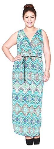 Buy belted paisley dress - 7