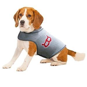 Thundershirt Dog Anxiety Polo Shirt, Major League Baseball Officially Licensed - Boston Red Sox (X-Small)