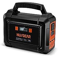 NusGear 167 Watt 45000mAh Camping Solar Generator