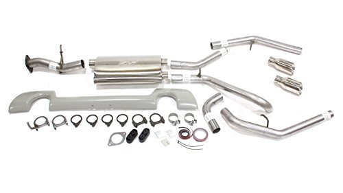 Racing Drag Exhaust (SLP 31675 PowerFlo Dual Outlet Exhaust System for Chevrolet Trailblazer SS)