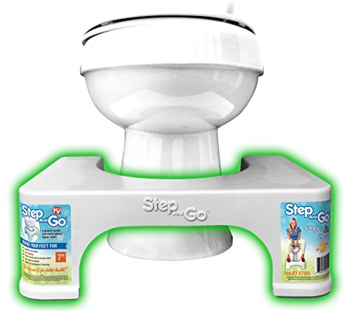 "Step and Go 7"" Squatting Step Potty aid"