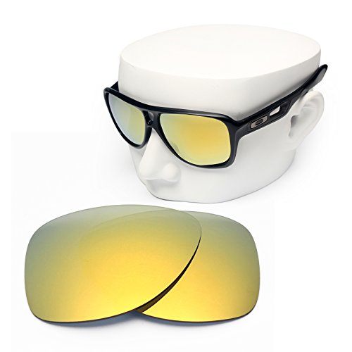 OOWLIT Replacement Sunglass Lenses for Oakley Dispatch 2 24K Gold - Dispatch 2 Lenses Replacement Oakley