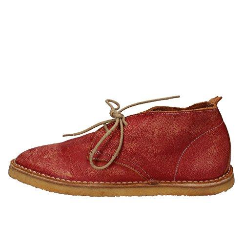 Women's Moma 37 Delle Uk 37 4 Pelle Red Donne Boots Leather Uk Desert eu Desert Moma In ue Rossa Boots 4 tTdn7w