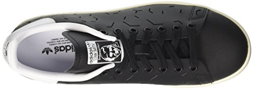 Black Footwear Negro Black Zapatillas White adidas Mujer Smith Stan para Core Core 4Aw40RCqn