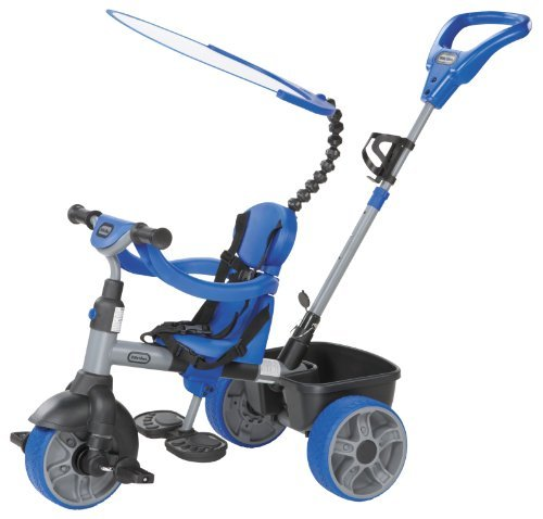 Little Tikes 4-in-1 Basic Edition Trike - Blue