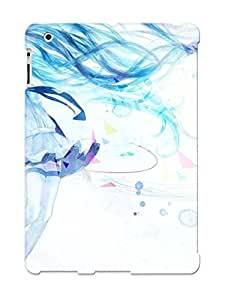 Ipad 2/3/4 Hatsune Miku Vocaloid Print High Quality Tpu Gel Frame Case Cover For New Year's Day by mcsharks