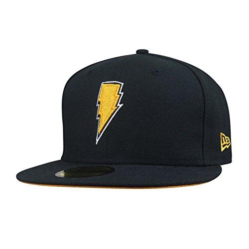 Black Adam Lightning 59Fifty Hat- 8 Adam New Era Hat