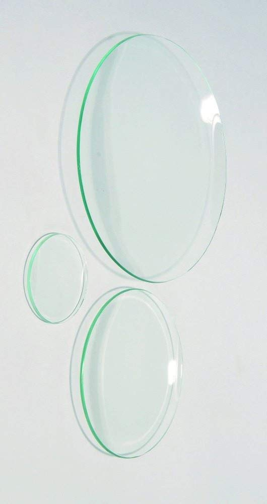 United Scientific WGL090 Clear Flint Glass Watch Glass, 90mm Diameter (Pack of 12) by United Scientific Supplies