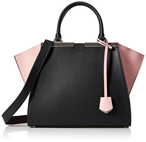 Fendi Women s 8BH2795R4F0786 Shopping Bag 2 Jours 6bc3440ee8a86