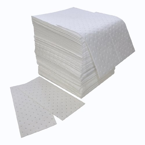 (Spilfyter Z-75 MRO White Oil Only Double Weight Sorbent Pad, 18